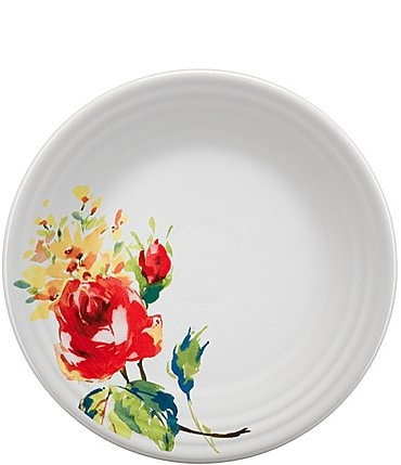 "Image of Fiesta Floral Bouquet 9"" Luncheon Plate"