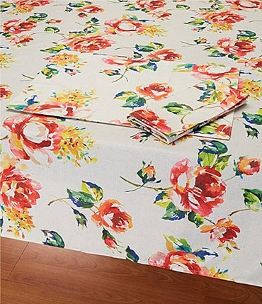 Image of Fiesta Floral Bouquet Table Linens