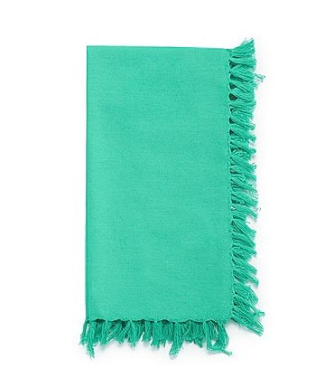 Image of Fiesta Fringed Cotton Napkins