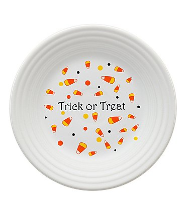 Image of Fiesta Halloween Candy Corn Luncheon Plate
