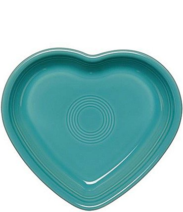 Image of Fiesta Medium Ceramic Heart Bowl Baking Dish