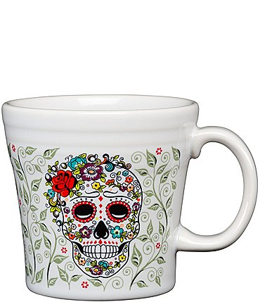 Image of Fiesta Skull & Vine Sugar 15-oz. Tapered Mug
