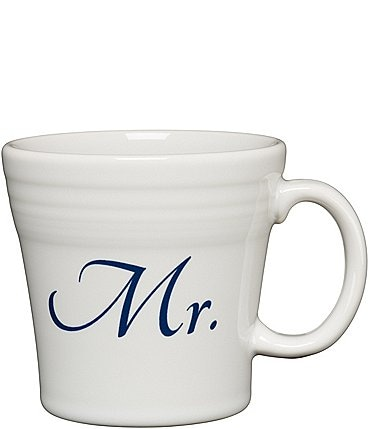 "Image of Fiesta Wedding Collection ""Mr."" 15 oz. Tapered Mug"