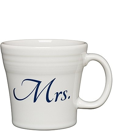 "Image of Fiesta Wedding Collection ""Mrs."" 15-oz Tapered Mug"