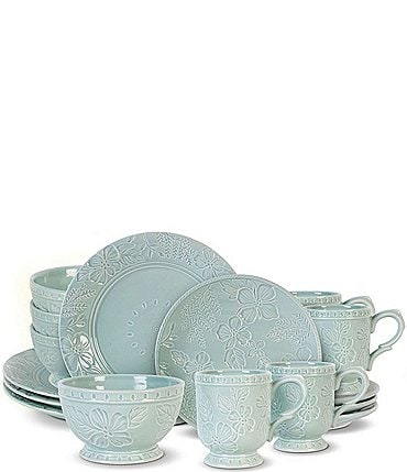 Image of Fitz and Floyd English Garden 16-Piece Dinnerware Set