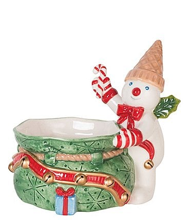Image of Fitz and Floyd Mr. Bingle Candy Dish