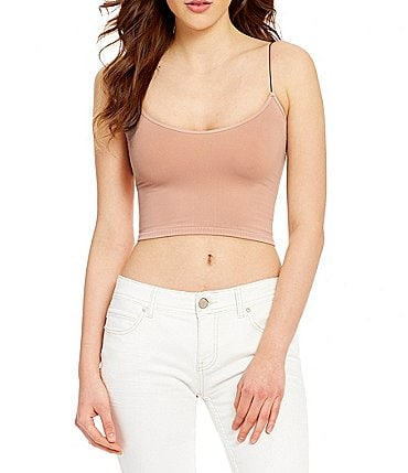 Image of Free People Intimately FP Seamless Cropped Cami