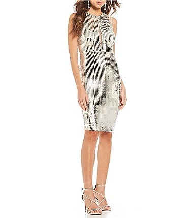 Image of Gianni Bini Alexis Sequin Dress