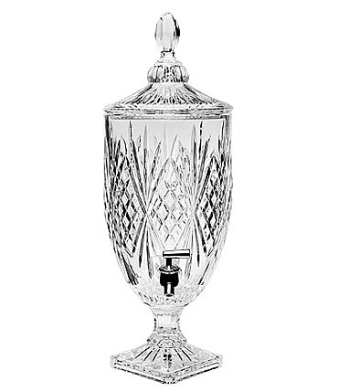 Image of Godinger Crystal Dublin Beverage Dispenser, 128-oz.