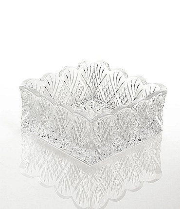 Image of Godinger Dublin Starburst Crystal Napkin Holder