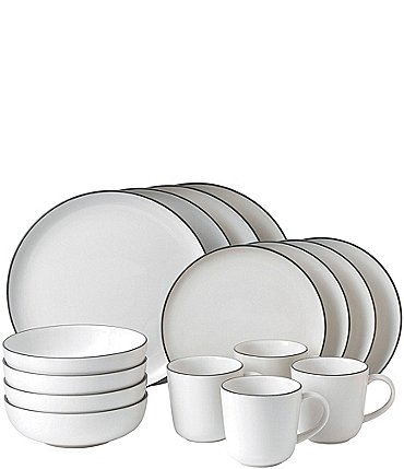 Image of Gordon Ramsay by Royal Doulton Bread Street White 16-Piece Dinnerware Set