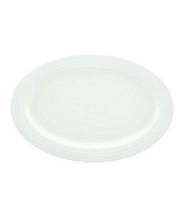 Image of Gorham Branford Bone China Oval Platter