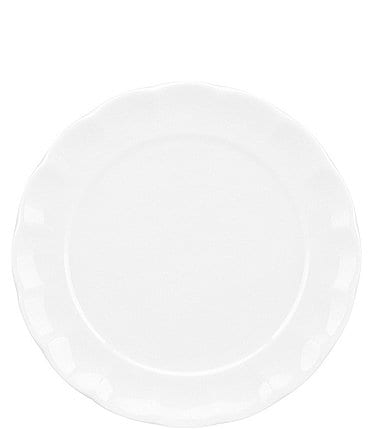 Image of Gorham Manor Scalloped Bone China Salad Plate