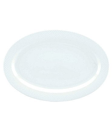 Image of Gorham Woodbury Bone China Oval Platter