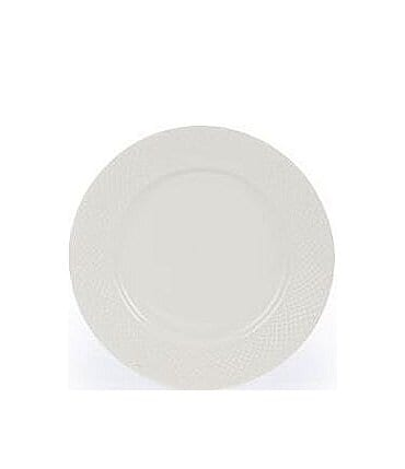 Image of Gorham Woodbury Embossed Bone China Dinner Plate