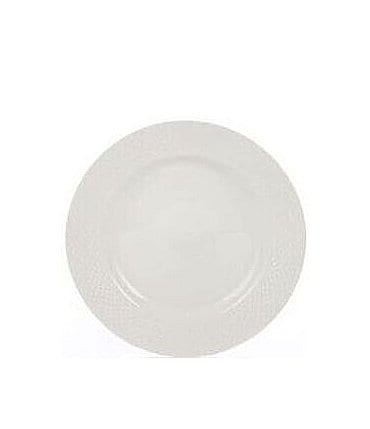 Image of Gorham Woodbury Embossed Bone China Salad Plate