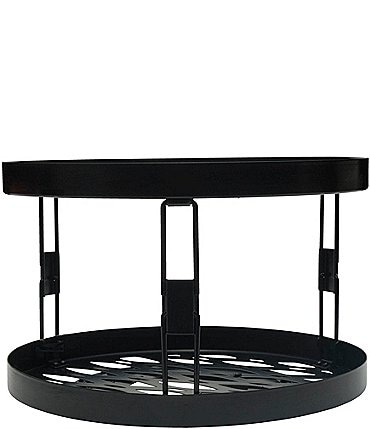 Image of Gourmet Basics by Mikasa Haven 2-Tier Lazy Susan Turntable