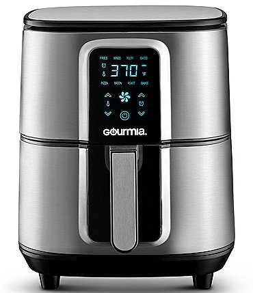 Image of Gourmia Digital 7-Quart Stainless Steel Air Fryer