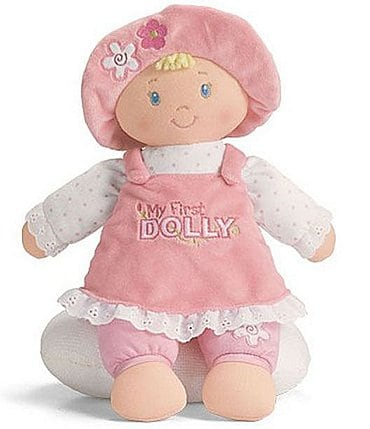 "Image of Gund My First Dolly 13"" Plush Doll"