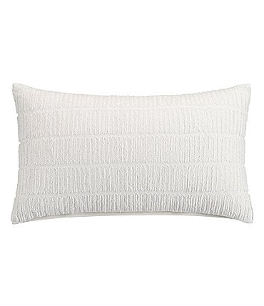 Image of H Halston Studio Tonal Texture Breakfast Pillow