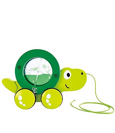 Image of Hape Tito the Turtle Pull Along Toy