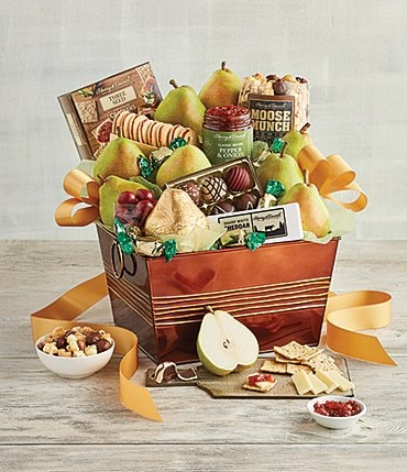 Image of Harry and David Deluxe Favorites Gift Basket