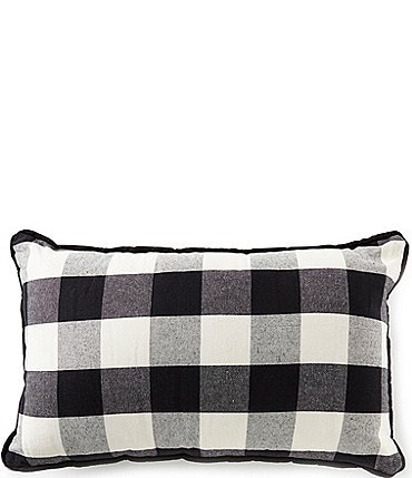 Image of HiEnd Accents Buffalo Check Lumbar Pillow