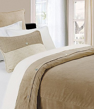 Image of HiEnd Accents Fairfield Velvet Duvet Cover