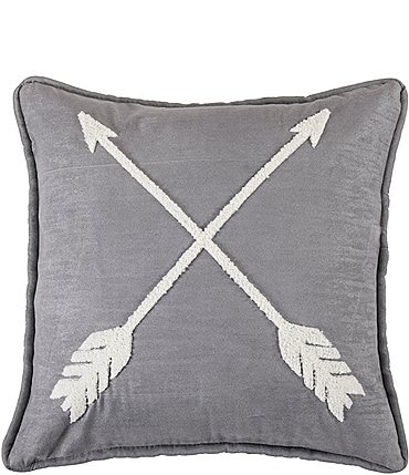 Image of HiEnd Accents Free Spirit Arrow Square Pillow