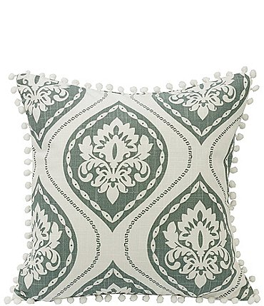 Image of HiEnd Accents Graphic Print Square Pillow