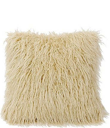 Image of HiEnd Accents Mongolian Faux-Fur Pillow