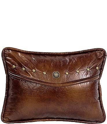 Image of HiEnd Accents Oblong Envelope Pillow With Studs