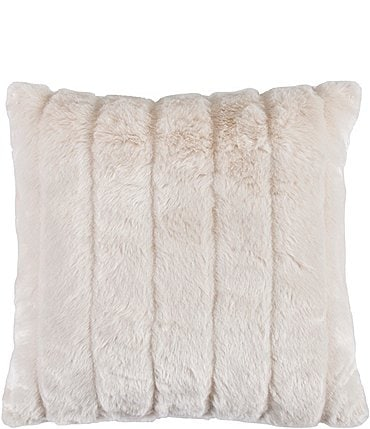 Image of HiEnd Accents White Mink Pillow