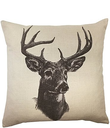 Image of HiEnd Accents Whitetail Deer Pillow