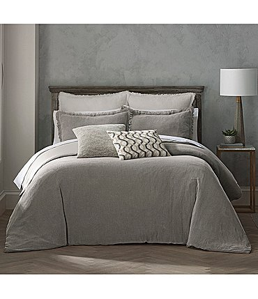 Image of Highline Bedding Co. Habit Reese Grey Duvet Mini Set