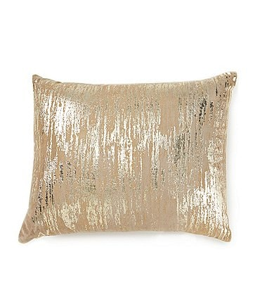 Image of Highline Bedding Co. Madrid Metallic Velvet Breakfast Pillow