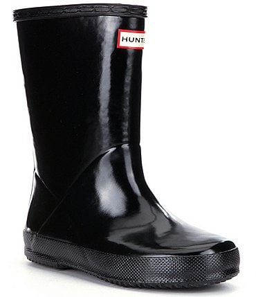 Image of Hunter First Gloss Kids' Waterproof Rain Boots Infant