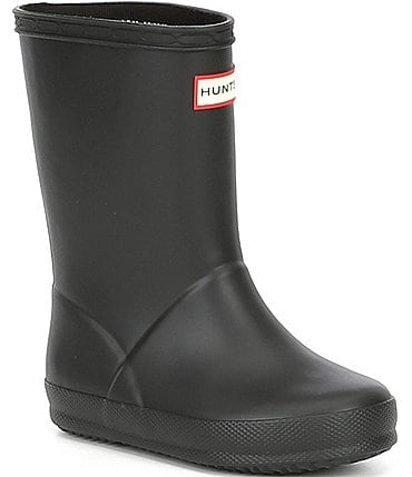 Image of Hunter Kids' Original First Matte Waterproof Rain Boots (Toddler)