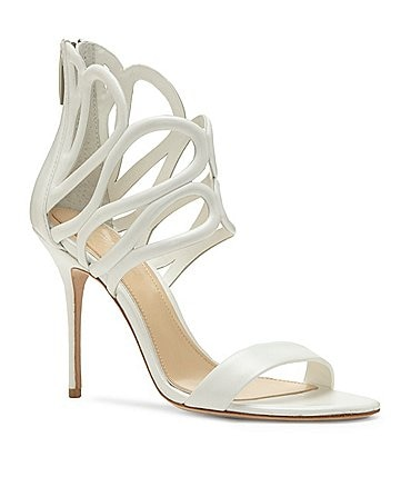 Image of Imagine Vince Camuto Rile Pearlized Leather Dress Sandals