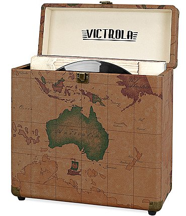 Image of Innovative Technology Victrola Storage case for Vinyl Turntable Records
