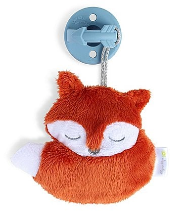 Image of Itzy Ritzy Fox Sweetie Pal - Pacifier & Stuffed Animal