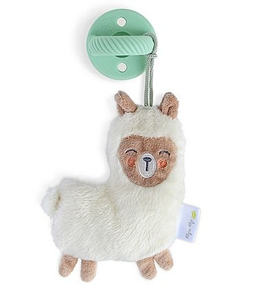 Image of Itzy Ritzy Llama Sweetie Pal - Pacifier & Stuffed Animal