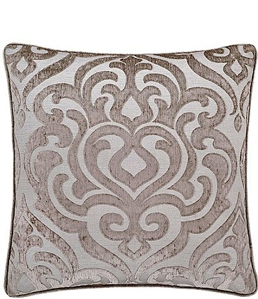 Image of J. Queen New York Sicily Damask Medallion Square Pillow