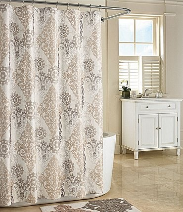 Image of J. Queen New York Galileo Damask Shower Curtain