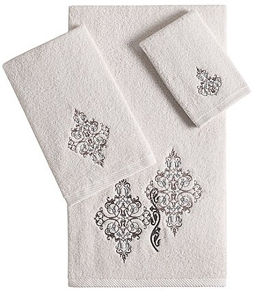 Image of J. Queen New York Galileo Embroidered Bath Towels