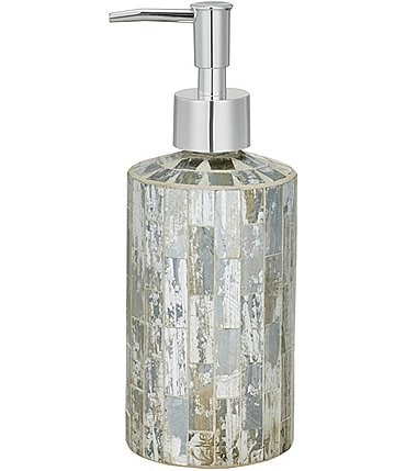 Image of J. Queen New York Imogen Mosaic Tile Lotion Dispenser