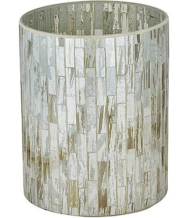 Image of J. Queen New York Imogen Mosaic Tile Wastebasket