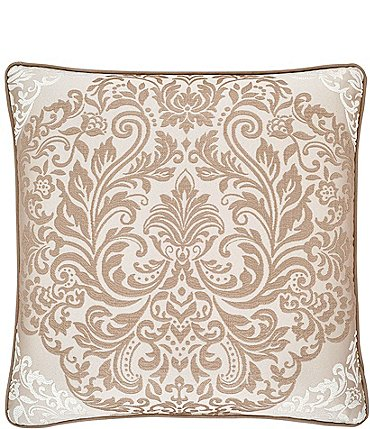 "Image of J. Queen New York La Scala Gold 20"" Square Pillow"