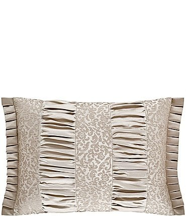 Image of J. Queen New York La Scala Gold Boudoir Pillow
