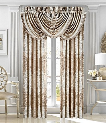 Image of J. Queen New York La Scala Gold Window Treatments